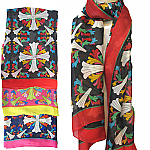 NEW Women Ladies Long Floral Fashion Scarf