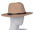 Wool felt braided belt hat